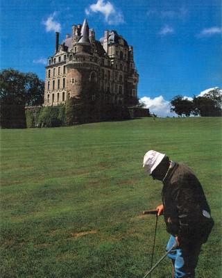 Jean-Yves Leroy au château de Brissac